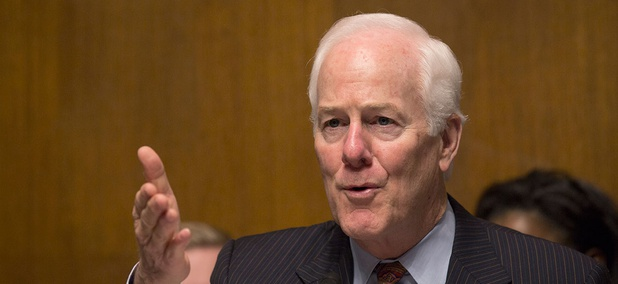 Sen. John Cornyn, R-Texas, wants to make it harder for the Chinese to invest in U.S. technology development, including in companies developing artificial intelligence.