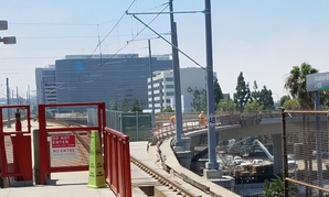 Los Angeles Metro is currently constructing a new light-rail line that will serve LAX Airport.