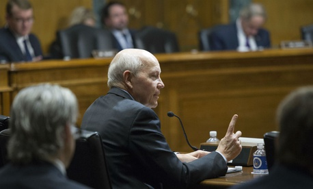 IRS Commissioner John Koskinen testifies on Capitol Hill in June.