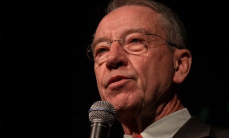 "Sen. Chuck Grassley, R-Iowa, said all employees feeling mistreated have the right to ""pursue all options"" and that those protections ""exist to promote good government."""