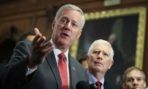 Freedom Caucus Chairman Rep. Mark Meadows, R-S.C., wants to eliminate CBO's analysis shop.