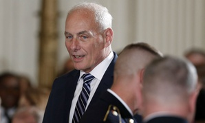John Kelly is now White House chief of staff.
