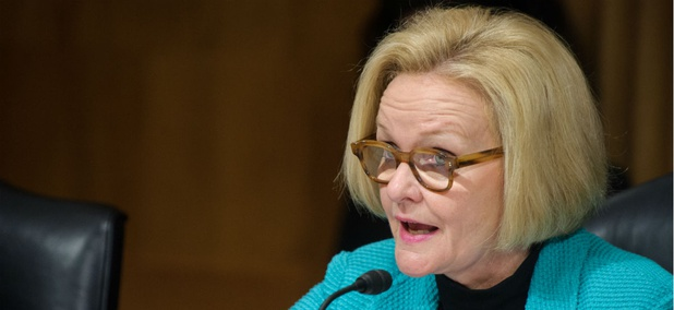 "Sen. Claire McCaskill, D-Mo., said: ""Whoever approved of this spending should be fired."""