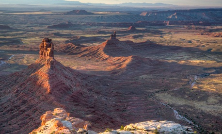 Cedar Mesa Valley of the Gods is a set of stone formations, part of the much larger Bears Ears National Monument in Utah.