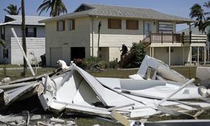 Damage in Goodland, Fla., following Hurricane Irma.