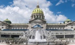 The Pennsylvania State Capitol in Harrisburg