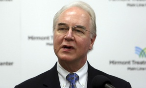 HHS Secretary Tom Price. An HHS spokesperson said sometimes commercial travel is not feasible for Price.