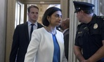 Seema Verma, administrator of the Centers for Medicare and Medicaid Services, arrives on Capitol Hill in July before the Senate vote on repealing Obamacare.