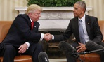 Trump and Obama meet at the White House on Nov. 10, 2016.