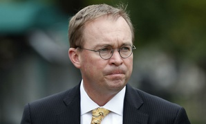 OMB Director Mick Mulvaney said he has not given up on spending cuts but that the administration will also focus on revenue increases to help balance the budget.