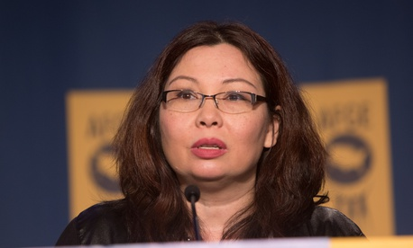"""We must never allow the consequences of war to be hidden from Americans,"" Tammy Duckworth wrote."
