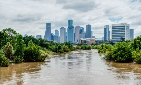 Hurricane Harvey spawned torrential downpours that caused widespread flooding in Houston and much of eastern Texas.
