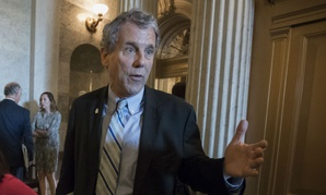 Sen. Sherrod Brown, D-Ohio, questioned nominee Stephen Vaden's experience for the job.
