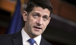 House Speaker Paul Ryan meets with reporters earlier in November.