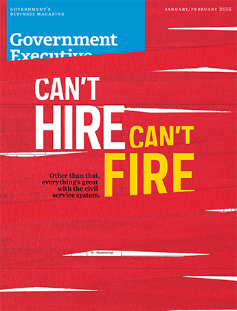 Government Executive : Vol. 47 No. 1 (Jan./Feb. 2015) Magazine Cover