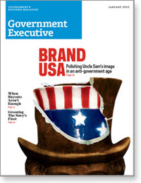Government Executive : Vol. 44 No. 1 (1/1/12) Magazine Cover