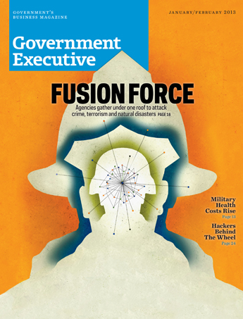 Government Executive : Vol. 45 No. 1 (January/February 2013)  Magazine Cover