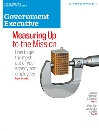 Government Executive : Vol. 46 No. 1 (Jan/Feb 2014)  Magazine Cover