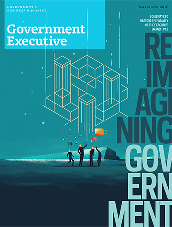Government Executive : Vol. 47 No. 3 (May/June 2015) Magazine Cover