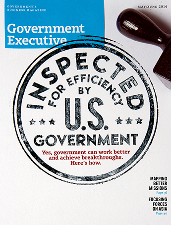 Government Executive : Vol. 46 No. 3 (May/June 2014)  Magazine Cover