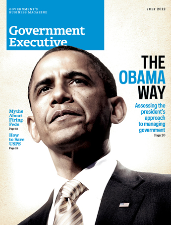 Government Executive : Vol. 44 No. 7 (7/1/12)  Magazine Cover