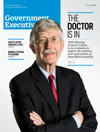 Government Executive : Vol. 45 No. 4 (July 2013)  Magazine Cover