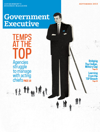 Government Executive : Vol. 45 No. 6 (September 2013)  Magazine Cover