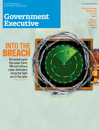 Government Executive : Vol. 44 No. 11 (10/1/12) Magazine Cover