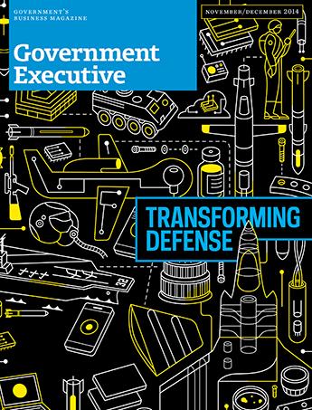 Government Executive : Vol. 46 No. 6 (Nov./Dec. 2014)  Magazine Cover