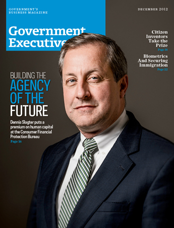 Government Executive : Vol. 44 No. 13 (12/1/12) Magazine Cover