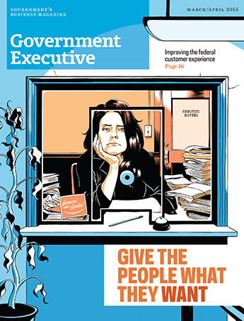 Government Executive : Vol. 47 No. 2 (March/April 2015) Magazine Cover