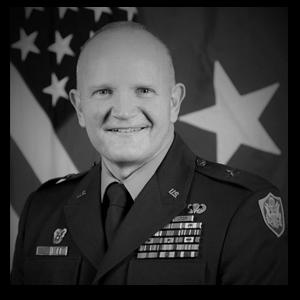 Profile Picture of Brigadier General Rob Parker.