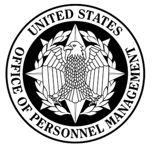 Official Logo of the Office Of Personnel Management.