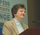 Office of Personnel Management Director Linda Springer defended the federal benefits package.