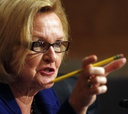 Sen. Claire McCaskill was encouraged by what she saw.
