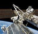 Atlantis is headed to the International Space Station.