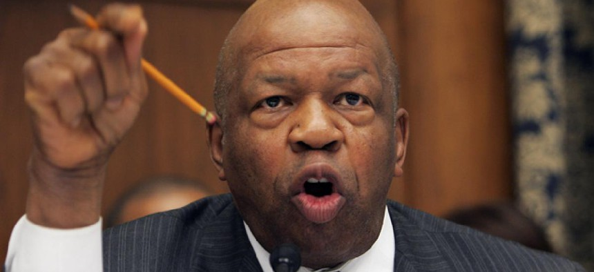 """""""Our federal employees are not a piggybank,"""" Rep. Elijah Cummings, D-Md., said Friday in opposition to the measure."""