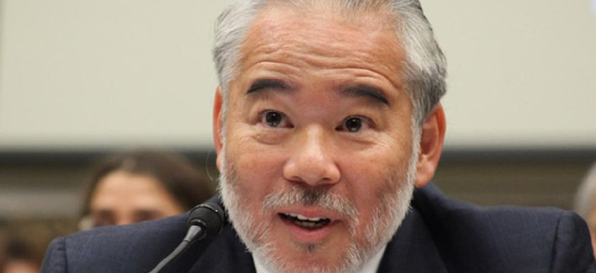 Stuart J. Ishimaru was nominated to the commission by President George W. Bush in 2003.