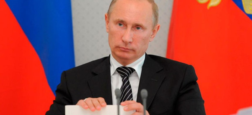 President Vladimir Putin has alleged that the agency influenced Russian elections.