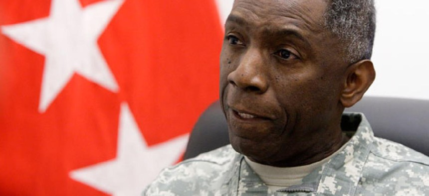 """Gen. William """"Kip"""" Ward  had served as head of the U.S. Africa Command."""