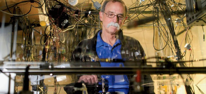 David Wineland received the Nobel Prize for his research in quantum physics.