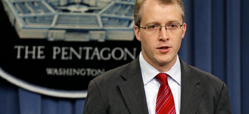 Pentagon Press Secretary George Little