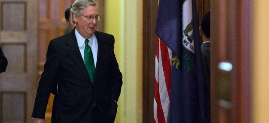 Sen. Mitch McConnell, R-Ky., was a key dealmaker in the fiscal cliff negotiations.