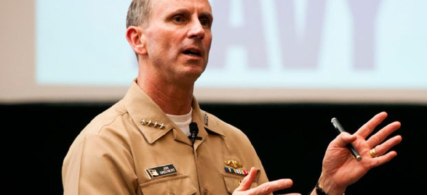 """""""We're going to do the right thing, the right operations, in a deliberate manner to get 2013 where we need to be and prioritize for FY14 [fiscal 2014],"""" Chief of Naval Operations Adm. Jonathan W. Greenert Greenert wrote this week."""