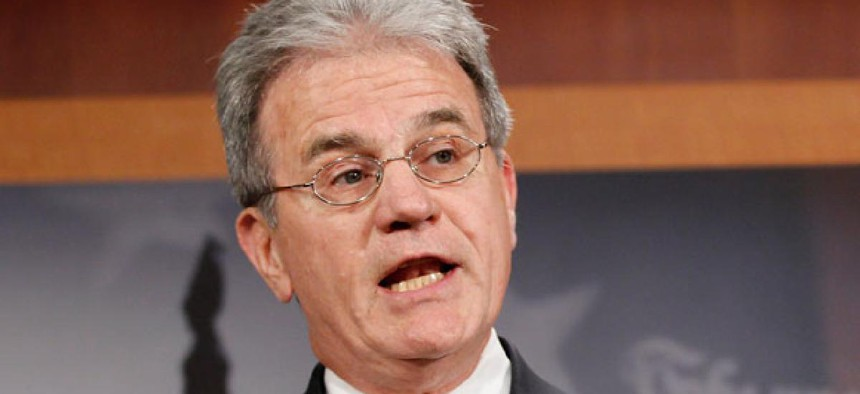 """""""We ought to live within our budget,"""" said  Sen. Tom Coburn, R-Okla.."""