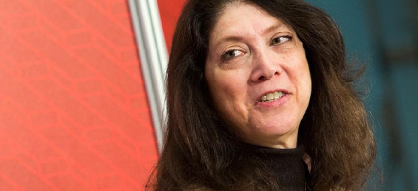 Shelley Metzenbaum earlier this month left the Obama administration.