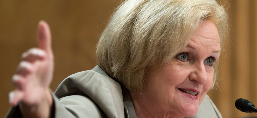 """""""It is much better than it was in 2007 in every single one of your agencies,"""" Sen. Claire McCaskill, D-Mo.,  said. """"Everyone is making progress."""""""