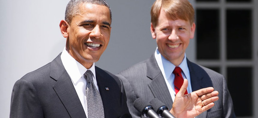 The deal permitted Richard Cordray to be approved as head of the Consumer Financial Protection Bureau in a 66-34 vote.