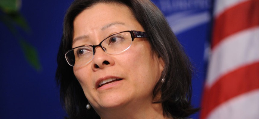 """""""That means that on the highest end of these estimates, the two rules will cost up to $1.1 billion in the first year of implementation,"""" OFCCP Director Patricia Shiu said."""