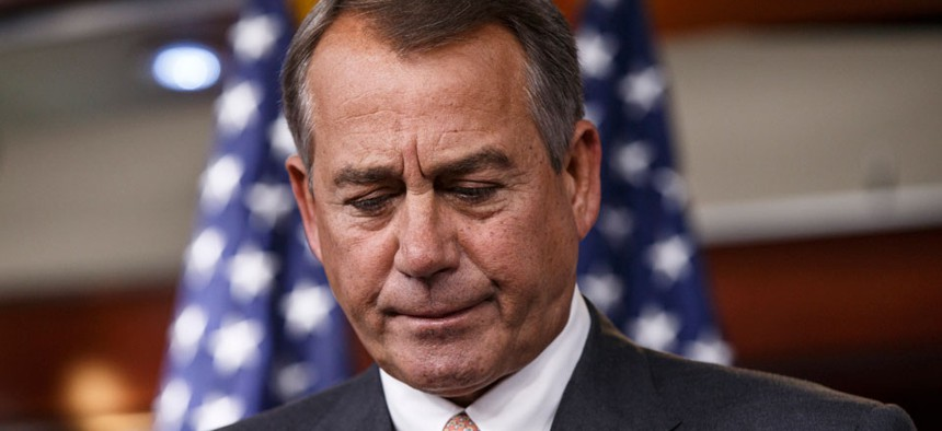"""There are a """"million options being discussed by a lot of people,"""" House Speaker John Boehner, R-Ohio, said."""
